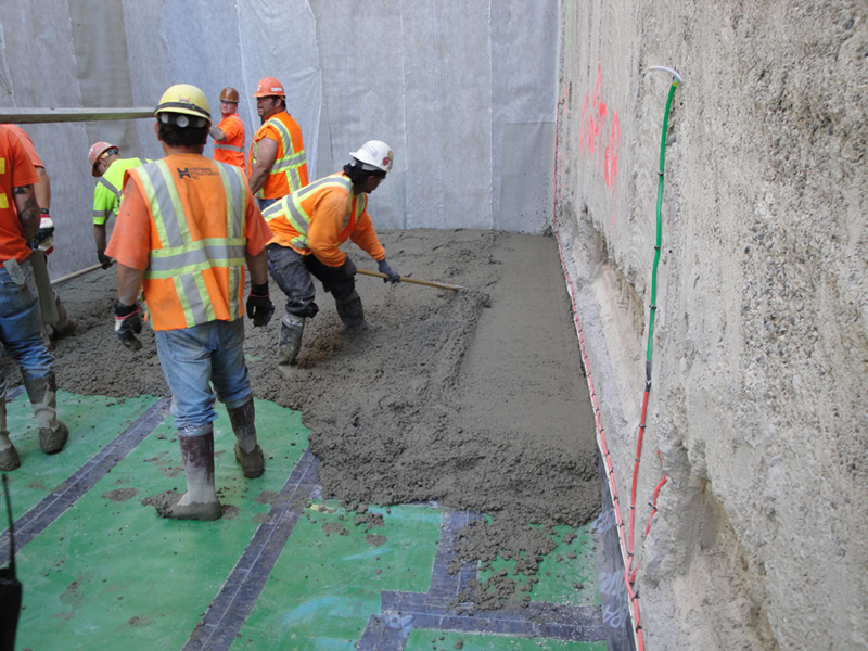 New Light Rail Station Waterproofing – STRUCTURAL TECHNOLOGIES